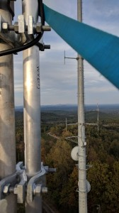 View from repeater antenna
