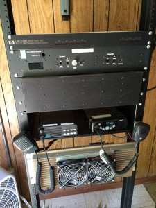 Original Tinker Mtn repeater system, installed by Mike Knight, K4IJ SK